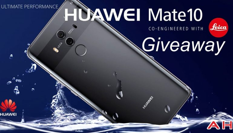 AndroidHeadlines Huawei Mate 10 Pro Giveaway: Win A Huawei Mate 10 Pro Phone [CLOSED]