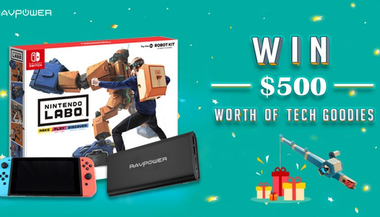 Ravpower Giveaway: Win A Nintendo Switch And More! [CLOSED]