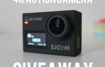 GeekSkills SJCAM SJ6 Legend Action Camera Giveaway: Win A SJCAM SJ6 [CLOSED]