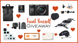 Sony A6300 GoPro Hero 6 Camera Bundle giveaway