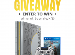 Into The AM Giveaway: Win A Playstation 4 And God Of War Game [CLOSED]
