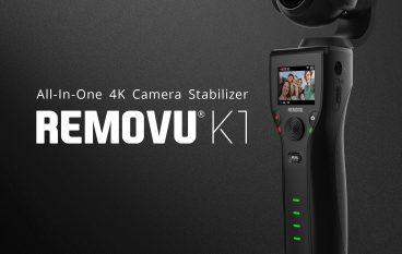 REMOVU K1 Giveaway: Win A REMOVU K1 All-In-One 4K Camera Stabilizer [CLOSED]