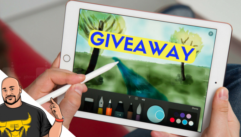 Apple iPad + Apple Pencil Giveaway: Win An iPad And Apple Pencil [CLOSED]