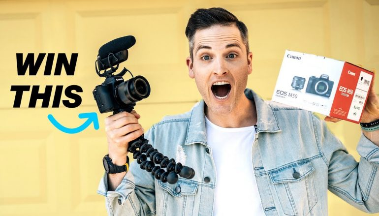 Sean Cannell Canon M50 Giveaway: Win A Canon M50 [CLOSED]