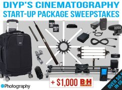 DIYP's Cinematography Start-Up Package Sweepstakes: Win Over $6,500 In Camera Gear [CLOSED]