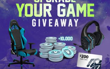 Upgrade Your Game Giveaway: Win A DXRacer Gaming Chair, Gaming Headset, $200 Gift Card [CLOSED]