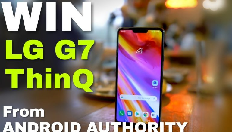 Android Authority LG G7 ThinQ international giveaway: Win A LG G7 ThinQ [CLOSED]