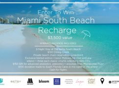 Miami South Beach Recharge Sweepstakes: Win A Trip For 2 To Miami [CLOSED]