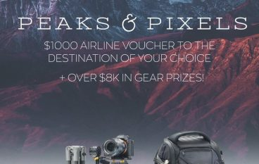 Peaks and Pixels Photo Gear & Trip Giveaway: Win A Sony A7RII, $1,000 Travel Voucher, And Much More! [CLOSED]