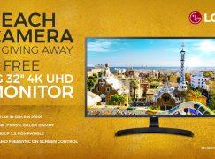 Beach Camera Giveaway: Win A 4K Computer Monitor [CLOSED]
