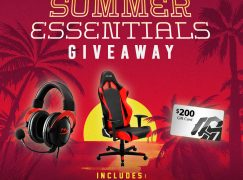 Summer Essentials Giveaway: Win A DXRacer Gaming Chair, HyperX Gaming Headset And $200 Gift Card [CLOSED]