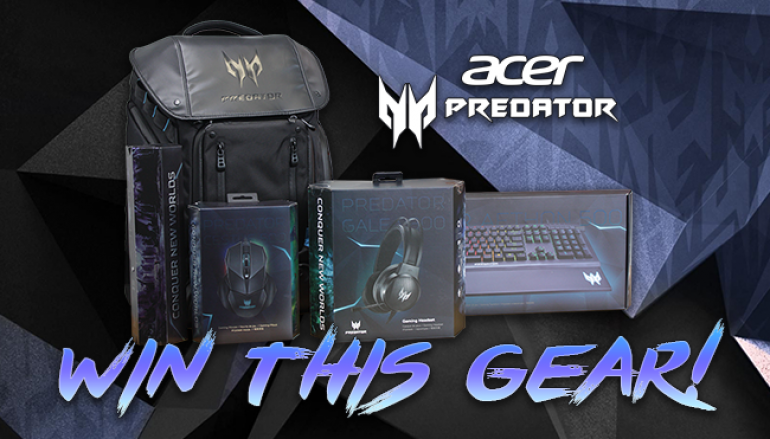 Acer Predator Gaming Bundle Giveaway: Win Acer Gaming Peripherals [CLOSED]
