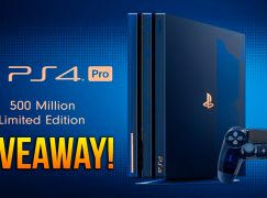 PS4 Pro 500 Million Special Edition Giveaway: Win A PS4 Pro [CLOSED]