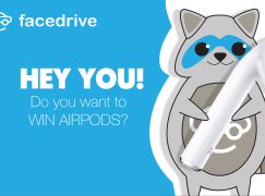 Facedrive Apple Air Pods Giveaway: Win Apple Air Pods [CLOSED]