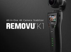 REMOVU K1 Giveaway: WIN A REMOVU K1 4K CAMERA And STABILIZER [CLOSED]