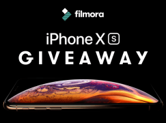 Filmora iPhone Xs Giveaway: Win An iPhone Xs [CLOSED]
