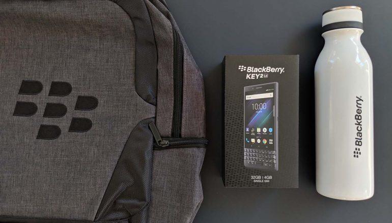 BlackBerry KEY2 LE Giveaway: Win A BlackBerry KEY2 LE [CLOSED]