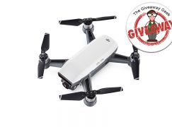 GiveawayGeek DJI Spark Drone Giveaway: Win A DJI Spark [CLOSED]