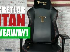 SecretLab Titan Giveaway: Win A Secretlab Titan PC Gaming Chair [CLOSED]