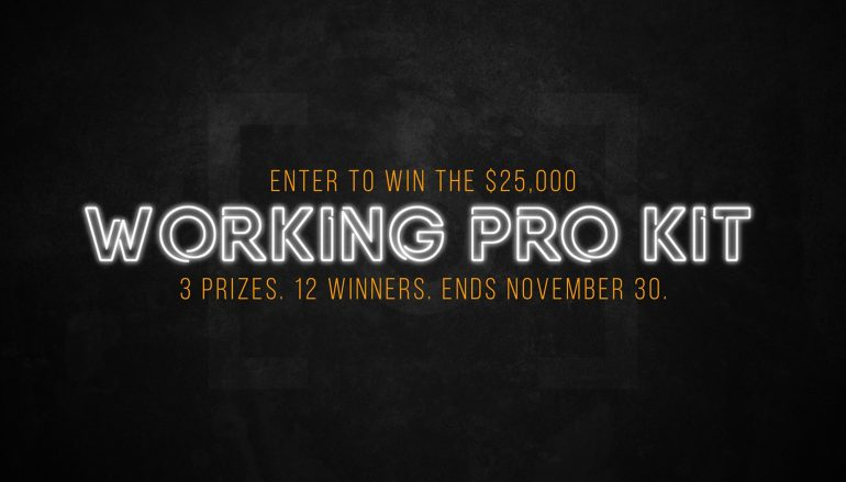 RGG EDU Working Pro Kit Contest: Win $25,000 Worth OF Camera Gear Including Canon EOS R/Nikon Z7/Sony A7III (3 Winners) [CLOSED]