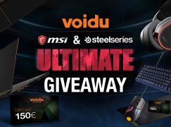 Voidu Ultimate Giveaway: Win A MSI Gaming Laptop And SteelSeries Gaming Set (Two Winners) [CLOSED]