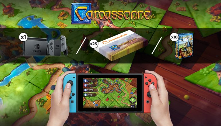 Carassonne Switch Sweepstakes: Win A Nintendo Switch [CLOSED]