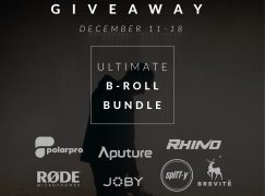 Rhino Ultimate B-Roll Bundle Giveaway: Win Camera Gear Including Rhino Arc II, Aputure 120D + Light Dome, Rode VideoMic Pro+ And More! [CLOSED]