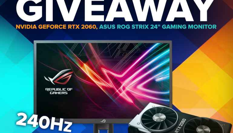 Stream.Me Giveaway: Win A NVIDIA GeForce RTX 2060 And ASUS ROG Strix 24″ Gaming Monitor [CLOSED]