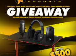 Noble eSports Giveaway: Win Arozzi Gaming Desk, Colonna Mic, Logitech G Pro Peripherals, & $500 Worth Of Nintendo And Steam Games [CLOSED]