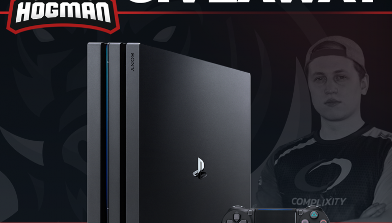 Hogman PS4 Pro Giveaway: Win A PS4 Pro [CLOSED]