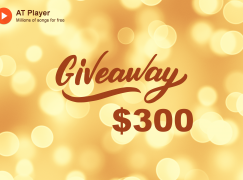 AT Player $300 Giveaway: Win $100 Cash (3 Winners Total) [CLOSED]
