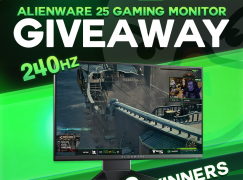 JoshOG February Alienware 25 Gaming Monitor Giveaway: Win An Alienware 25 Gaming Monitor (3 Winners) [CLOSED]