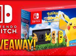 Pokémon Let's Go Pikachu Nintendo Switch Console GIVEAWAY: Win A Nintendo Switch [CLOSED]