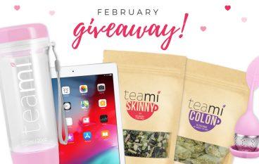 Teami February Giveaway: Win An iPad [CLOSED]