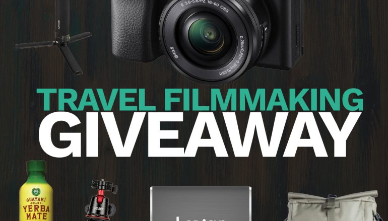 Travel Filmmaker Giveaway: Win A Sony Alpha A6400, DJI Ronin S, And More! [CLOSED]