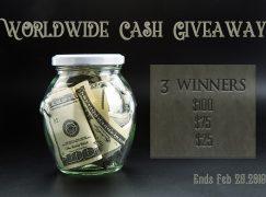 MossReviews Worldwide Cash Giveaway: Win $100 Cash (Multiple Winners) [CLOSED]