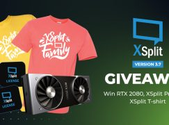 Xsplit Giveaway: Win A Nvidia RTX 2080 [CLOSED]