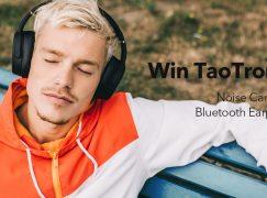 TaoTronics Headphones Giveaway: Win TaoTronics Noise Cancelling Bluetooth Headphones (Multiple Winners) [CLOSED]