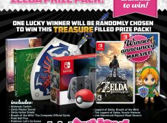 Mega March Zelda Giveaway: Win Nintendo Switch Zelda Bundle [CLOSED]