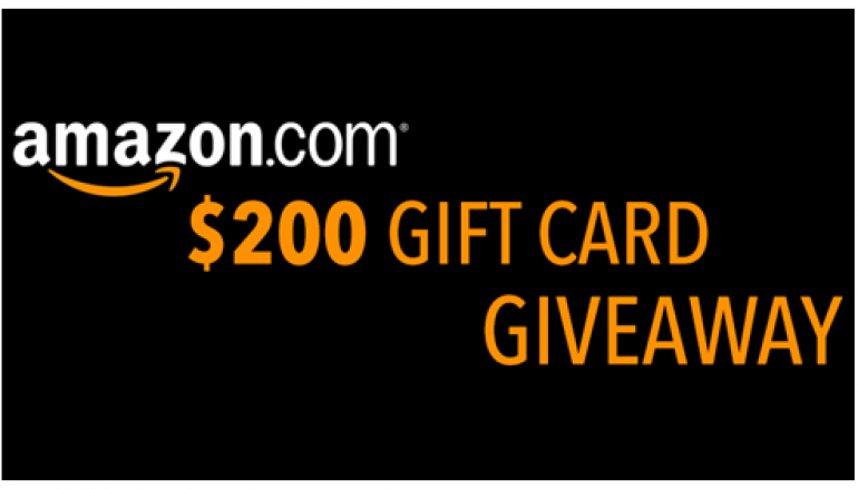 June Giveaway: Win A $200 Amazon Gift Card (Multiple Winners)