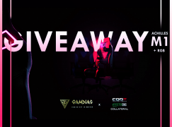 Collateral Network + GAMDIAS Giveaway: Win A GAMDIAS Achilles M1 RGB Gaming Chair [CLOSED]