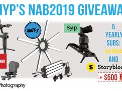 DIYP's NAB2019 Giveaway: Win Over $8,500 Cinematography Gear [CLOSED]