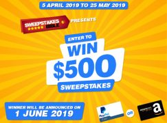 SweepstakesBible $500 Giveaway: Win $500 Cash (Or Amazon Gift Card) [CLOSED]
