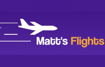 Matt's Flights 2 Free Tickets Giveaway: Win 2 FREE ROUNDTRIP TICKETS TO YOUR DREAM DESTINATION