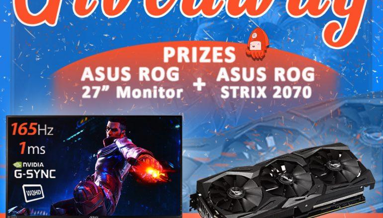 Ultra Visual Overhaul Giveaway: Win A ASUS ROG GAMING MONITOR And ASUS ROG STRIX RTX 2070 [CLOSED]