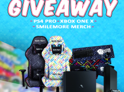 Hogman May Giveaway: Win A XBOX ONE X, PS4 PRO & SMILE MORE GAMING MERCH (Multiple Winners) [CLOSED]