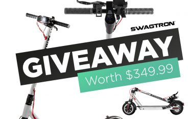 Swagtron Electric Smart Scooter Giveaway: Win An Electric Smart Scooter