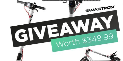 Swagtron Electric Smart Scooter Giveaway