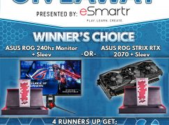 Tempo May Giveaway: Win An ASUS ROG 240hz Monitor Or ASUS ROG STRIX RTX 2070