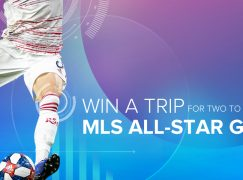 MLS All-Star Giveaway: Win A Trip For Two To The 2019 MLS All-Star Game In Orlando, FL.